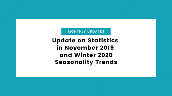 Update on Statistics in November 2019 and Winter 2020 Seasonality Trends
