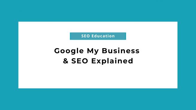 Google My Business SEO